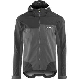 GORE WEAR C5 Gore-Tex Active Trail Hooded Jacket Men black/terra grey